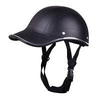 Cap Style Safety Hard Hat Open Face Motorcycle Bike Scooter Half Helmet Baseball