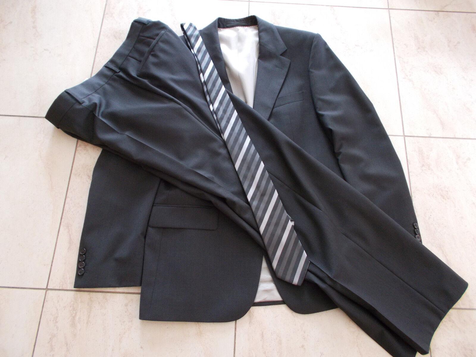 Hugo Boss Anzug Gr.50 Gable Vegas Nadelstreifenanzug