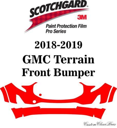 3M Scotchgard Paint Protection Film Pro Series Clear Kit 2018 2019 GMC Terrain