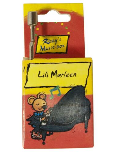 Geschenkartikel Spieluhr Lili Marleen