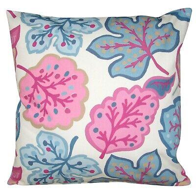 "Sanderson Fabric Cushion Cover in William Morris Snakeshead Design 16/"""