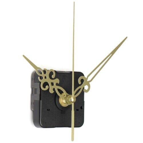 Golden zeiger Schwarz DIY-Quarz-Uhrwerk Uhr V4Z5 2X