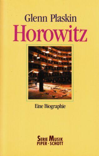 1 von 1 - *o- HOROWITZ - eine BIOGRAPHIE - Glen PLASKIN  tb  (1990