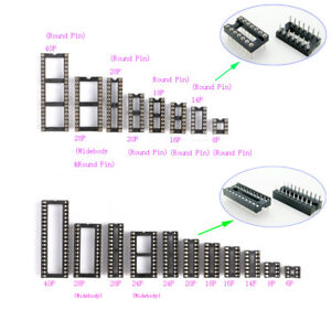 2-54mm-IC-Socket-DIL-DIP-6P-8P-14P-16P-18P-20P-24P-28P-40P-Pin-IC-Chip-Sockets