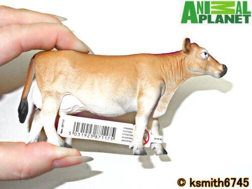 Mojo Animal Planet Jersey vache solide Jouet en plastique Ferme Pet NEUF