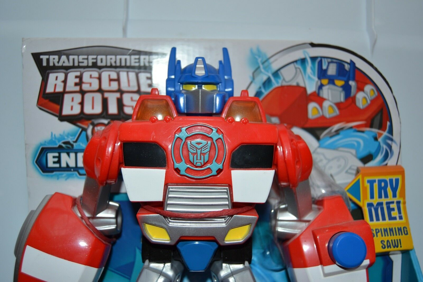 Transformers rescue bots Optimus prime electronic Optimus prime energize new