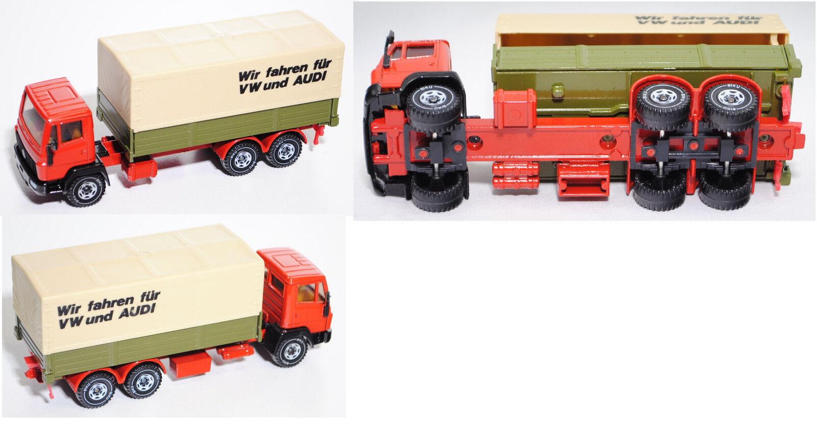 Siku Super 2517 mercedes ln-2 camión con argentoforma y Plane