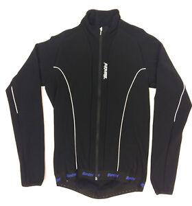 Santini Men/'s Vega H20 Long Sleeve Cycling Jersey in Black