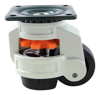 BS Rollen Lenkrolle Gummirad grau Gleitlager 80 mm A200 A80 80