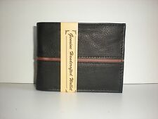 GENUINE HANDCRAFTED COW LEATHER BI-FOLD WALLET 90426