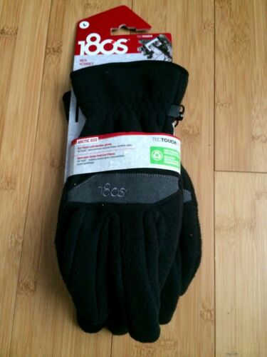 NWT 180s Tec Touch Men/'s Gloves SMALL ARCTIC ECO FLEECE Touch Screen