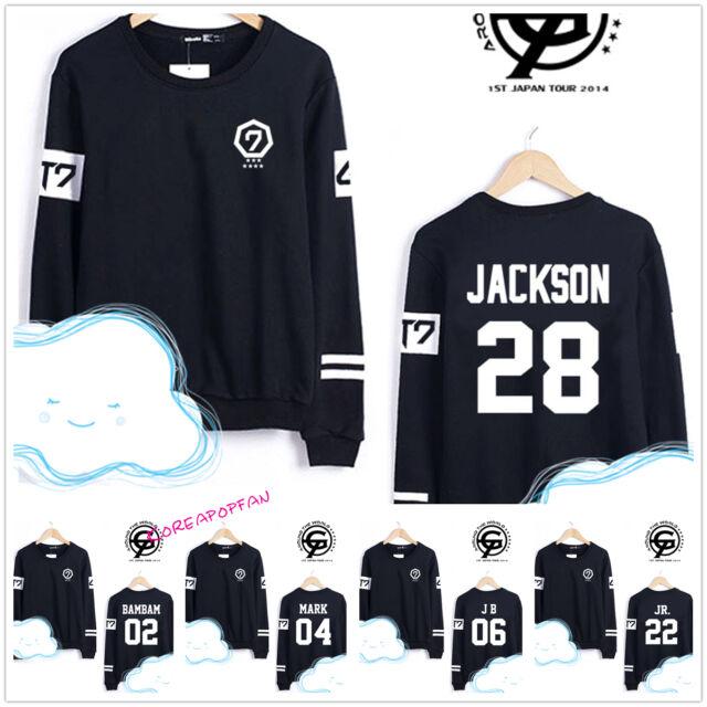 GOT7 kpop jumper sweater jb jr mark youngjae bambam jackson unisex New