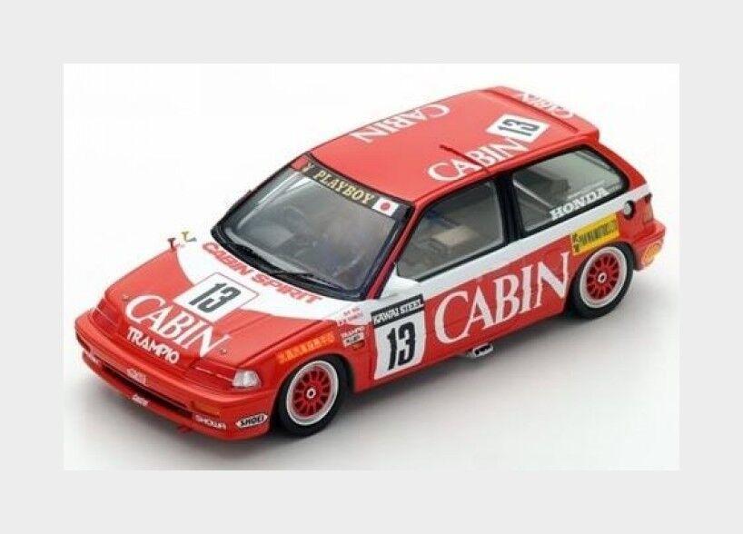 Honda Civic Ef3  13 1St Gr. C Macau Guia Race 1988 Shimizu SPARK 1 43 SA124