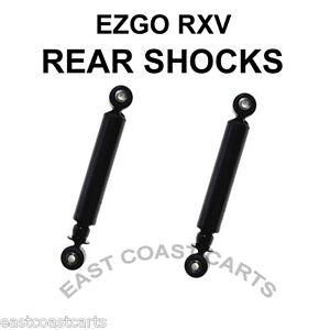 EZGO RXV Golf Cart Rear Shock 603637, 611724 (2) Shocks   eBay Ebay Yamaha Golf Cart Shocks on aftermarket atv shocks, yamaha utility cart shocks, yamaha g2 shocks, spring loaded golf cart shocks, yamaha golf carts winter covers, lifted golf cart shocks, heavy duty golf cart shocks, f150 heavy duty shocks, yamaha golf carts product, club car golf cart shocks,