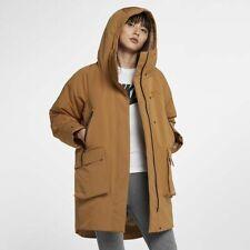 Nike Sportswear Tech Pack Down Fill Parka Muted Bronze 939493 255 Womens Medium