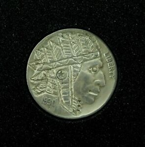 HOBO-NICKEL-1930-INDIAN-CHIEF-SIGNED-by-J-ALLEN-6