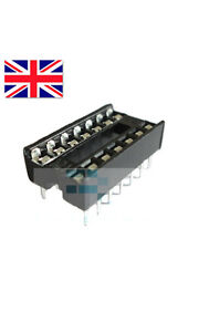 New-14-Pin-DIP-IC-Socket-Adapter-Solder-Type-High-Quality-Free-Postage