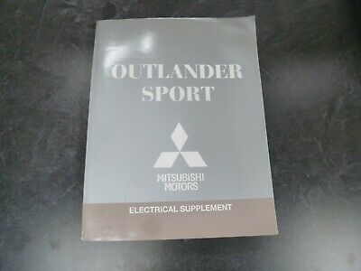 2012 Mitsubishi Outlander Sport Electrical Wiring Diagrams Manual Es Cvt Se 4wd Ebay