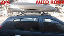 BOX AUTO PORTAPACCHI G3 HELIOS 480+BARRE ALLUMINIO DACIA SANDERO STEPWAY