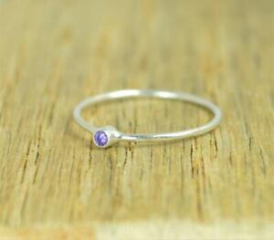 Amethyst-Stone-Ring-Solid-925-Sterling-Silver-Ring-Band-Ring-Handmade-Ring-SR12