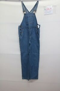 Salopette-IN-DUE-TIME-Cod-S1043-Tg-S-jeans-usato-salopet-vintage-donna