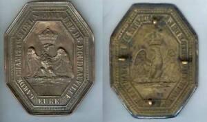 Plaque De Métier - Doudeauville Eure Empire Garde-champêtre D=111x88mm Ameling Aa2irqx6-08001645-298945128