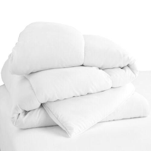 Luxury Hollowfiber Duvet Single Double King Size 10.5 Tog Quilt Bedding Pillows