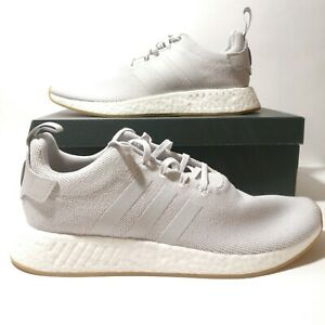 best service d92d8 2b040 Details about Adidas Originals NMD R2 Grey White Gum Boost Running Shoes  CQ2403 Multi Size