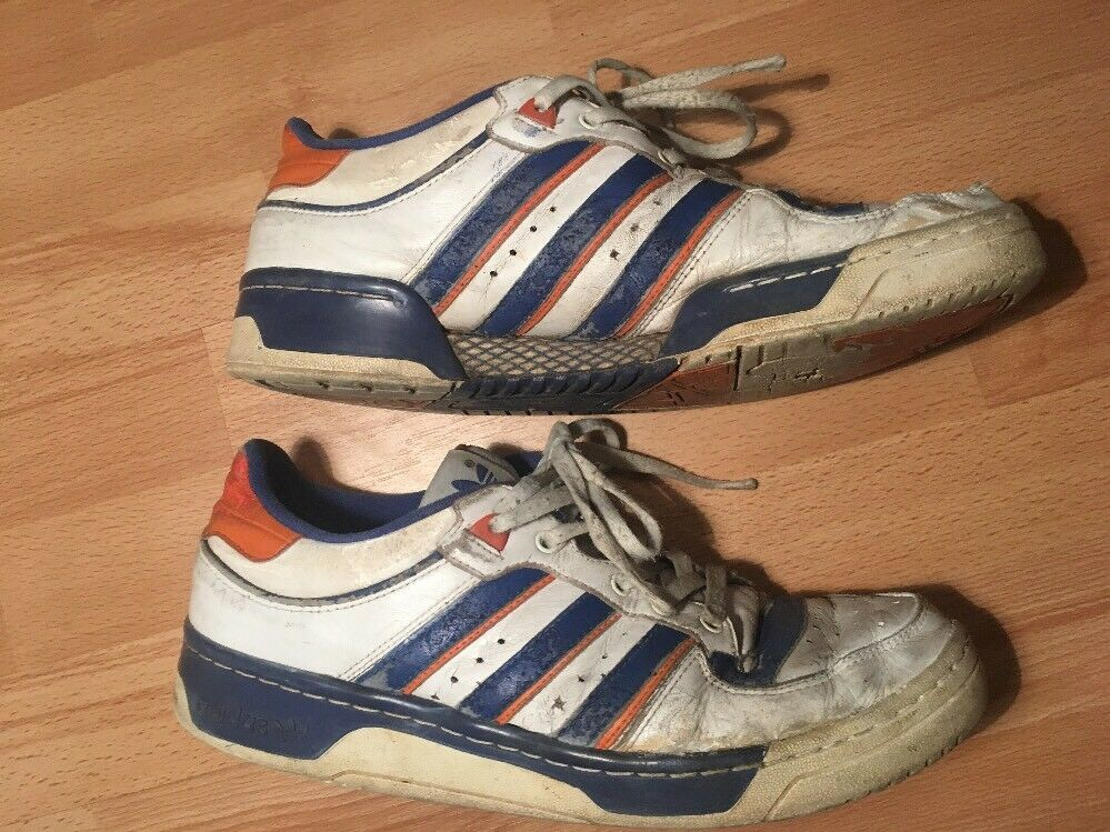 Adidas Originals Limitiert Nur 500 Stück New York Knicks retro vintage 45 Rar