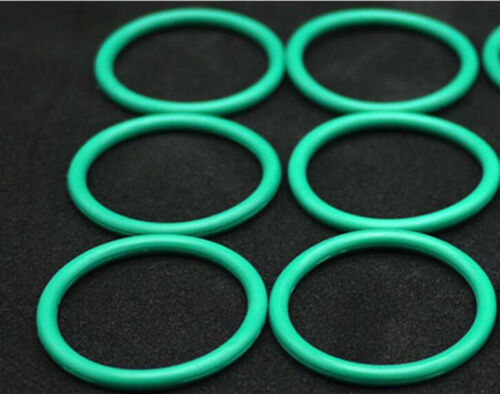 Fluorine Rubber O Rings 1.5mm 5MM 50MM ID Seal Oil Resistant FKM O-Ring Green