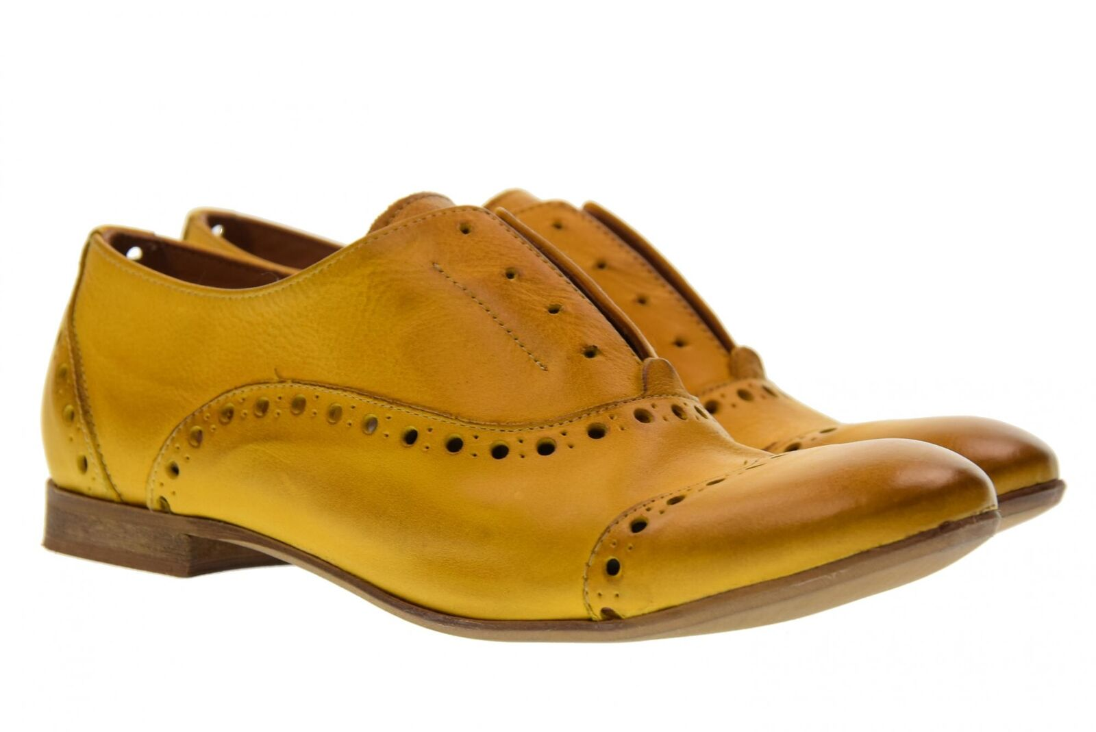 Erman's P18us classic woman shoes 210FOR yellow
