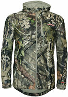 Mens Mossy Oak Break-up Camo Camouflage Mesh Lined Jacket Hunting Fishing