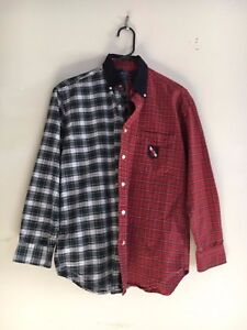 Plaid Shirt Lauren 100Cotton Rn Sleeve Ralph Long Size L Polo 8y0wOPvNmn