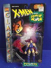 "Sexy  ""PSYLOCKE""  X-Men Classics Action Figure  w/ light up psychic knife 1995"