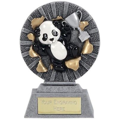 TROPHY FOR ANY OCCASION SIZE 18.5 CM FREE ENGRAVING RESIN CONSTRUCTION 483A
