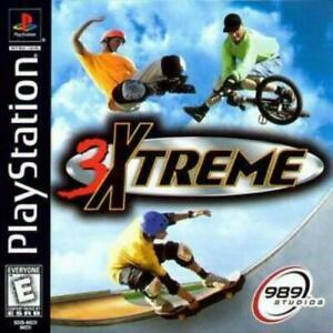 3xtreme-Playstation-1-Game-PS1-Used-Complete