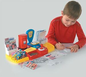 Image Is Loading Post Office Set Toy Casdon Kids Activity Fun