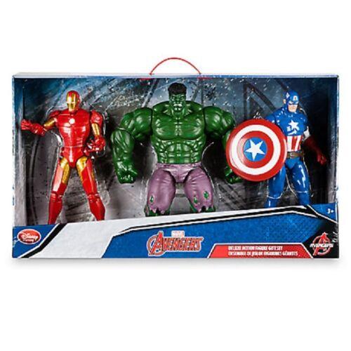 Marvel Avenger/'s action figure Gift Set Hulk-Iron Man-Captain America