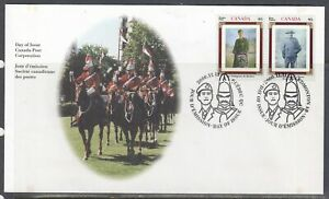 Canada-Scott-1876a-FDC-Army-Regiments
