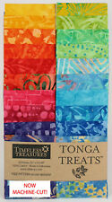 "Timeless Treasures Punch Tonga Treats Jelly Roll 40 Pieces//Strips 2.5/"" x 43/""//44/"""