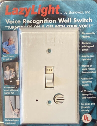 Free Shipping! Lazy Light Voice Activated Light Switch by Sonovox