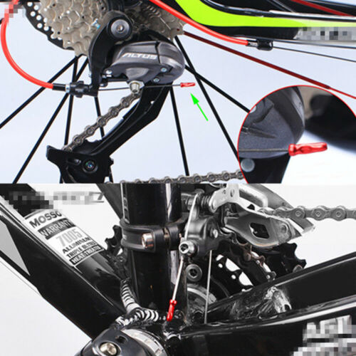 50//100 Aluminum Bicycle Bike Brake Shifter Inner Cable Tips Wire End Cap Crimps