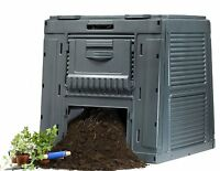 Keter 120 Gallon 16 Cu. Ft. Compost Garden Yard Leaf Clean-up Composting