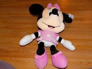 Large Jumbo 24 Disney Baby Minnie Mouse Plush Toy Stuffed Animal