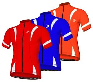 96d41a875 Mens Cycling Half Sleeve Jersey Biking Top Outdoors Sports Biking ...