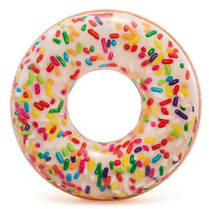 Intex-Sprinkle-Donut-Tube-Inflatable-Rubber-Ring-for-Pool-Beach-Summer