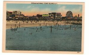 Undated-Unused-Postcard-Ocean-bathing-Coney-Island-New-York-NY