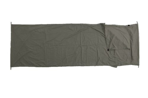 Basic Nature Mischgewebe Inlett Innenschlafsack Deckenform anthrazit Decken & Inletts Schlafausrüstung