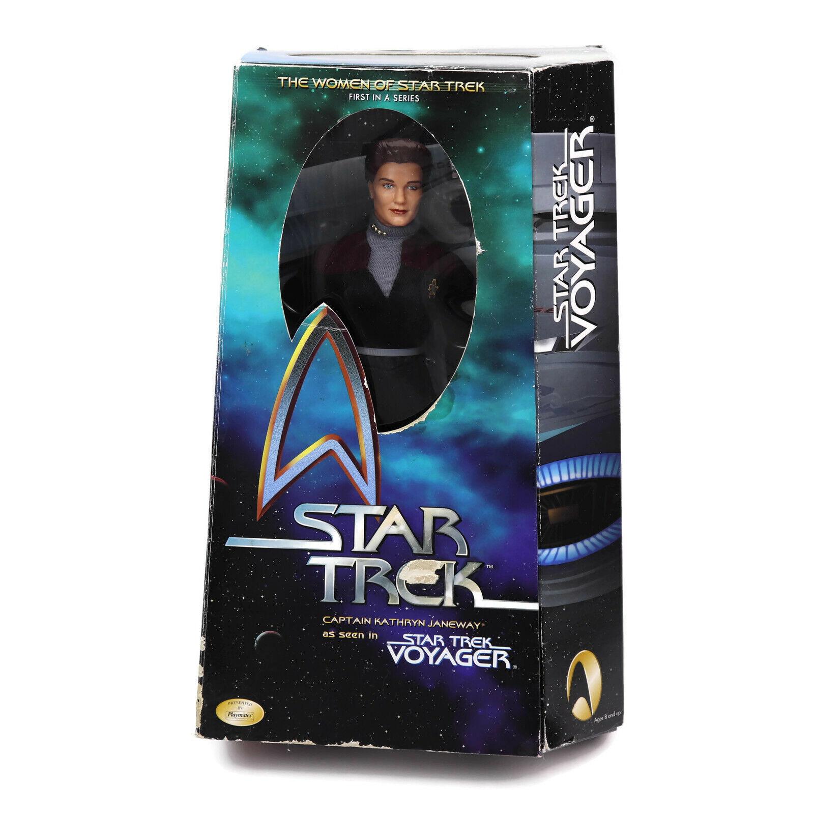 El capitán Kathryn Janeway Estrella Trek Voyager 12 Pulgadas Figura De Acción Coleccionables E6
