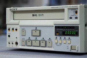 Neuwertig! Sony svo-9500mdp HIFI SVHS + Fernbedienung! Video Cassette Recorder